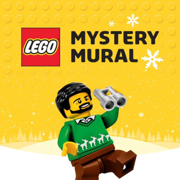 LEGO Mystery Mural