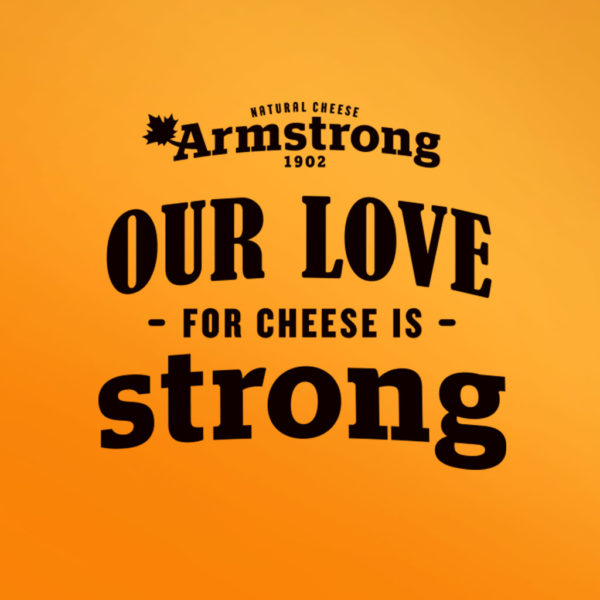 Armstrong Cheese Brand Launch