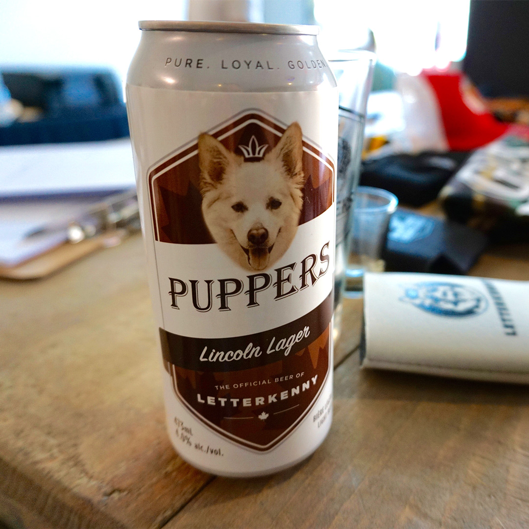customcan,dogbeer