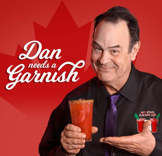 Dan Needs a Garnish!